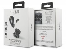 Guess Wireless Earbuds Zwart - Bluetooth Oordopjes met Charging Case