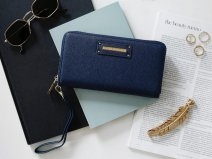 iDeal of Sweden Chelsea Smartphone Wristlet Saffiano - Navy