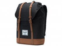 Herschel Supply Co. Retreat Rugzak - Black/Saddle Brown