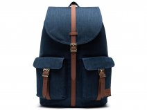 Herschel Supply Co. Dawson Rugzak - Indigo Denim Crosshatch
