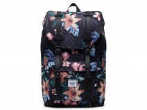 Herschel Supply Co. Little America Rugzak - Summer Floral Black (Mid)