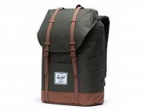 Herschel Supply Co. Retreat Rugzak - Dark Olive/Saddle Brown