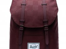 Herschel Supply Co. Retreat Rugzak - Plum Dot Check