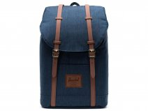 Herschel Supply Co. Retreat Rugzak - Indigo Denim Crosshatch