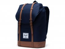 Herschel Supply Co. Retreat Rugzak - Peacoat/Saddle Brown