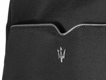 Maserati Slim Backpack Black/Silver - Rugzak Laptoptas