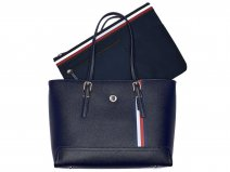 Tommy Hilfiger Honey Medium Tote met Laptopsleeve (Sky Captain)